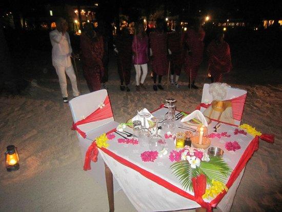 Dream of Zanzibar: private dinner on the beach
