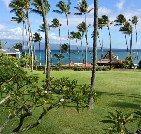 Napili Shores Maui by Outrigger: View from our OV upper level suite
