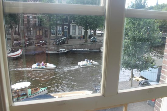 B&B Herengracht 21: View from room