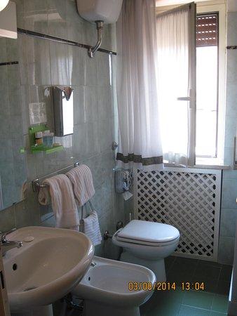Hotel Diana Roof Garden: bathroom
