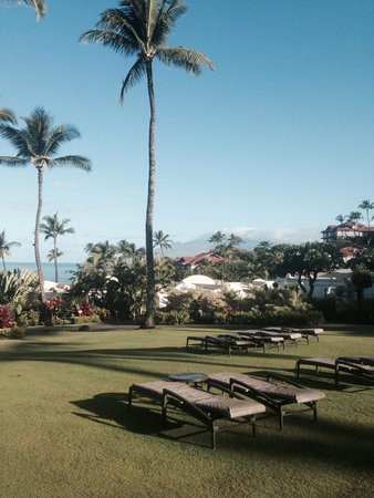Fairmont Kea Lani, Maui: view from the path to the sea