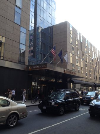 InterContinental New York Times Square: The hotel exterior