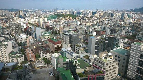 Imperial Palace Seoul : Вид из окна