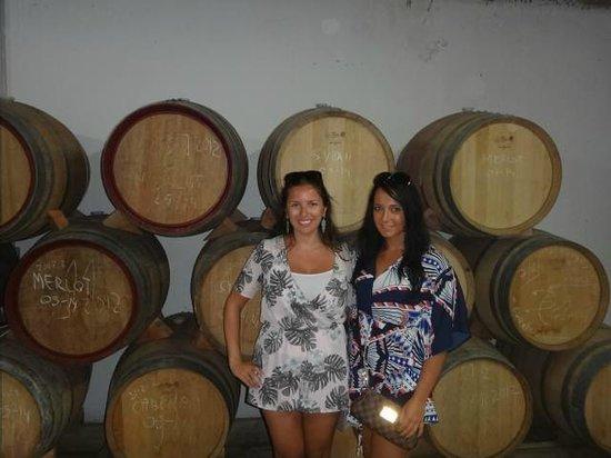 Tannin Trail: more wine!