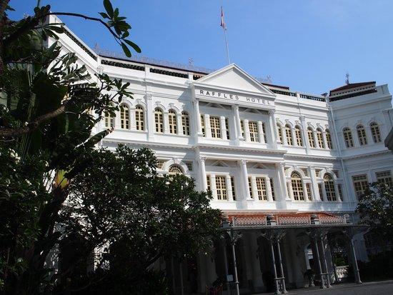 Raffles Hotel Singapore: le raffles