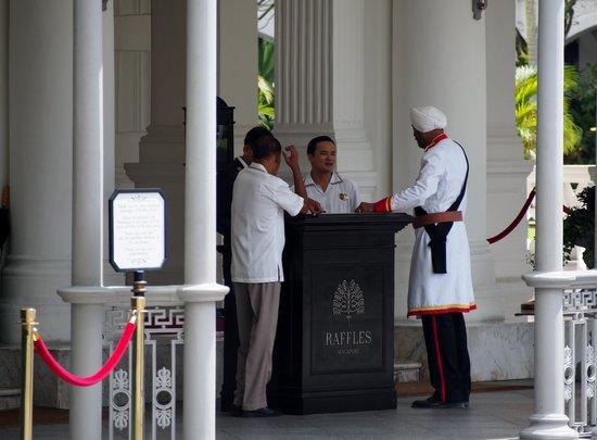 Raffles Hotel Singapore: accueil