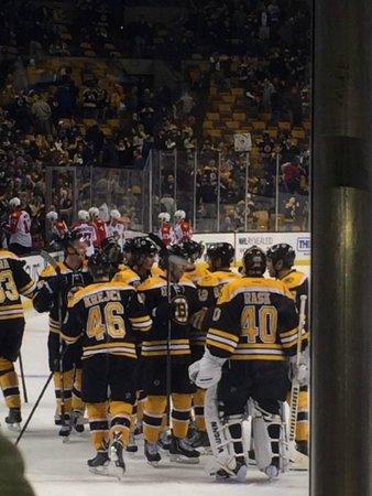 TD Garden: Bruins Game