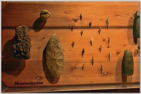 Mud Island River Park : Ancient Arrow Heads Found in the Vicinity of the Mississippi