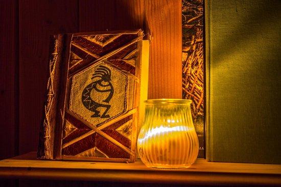 Hetre sous le Charme : La déco le soir
