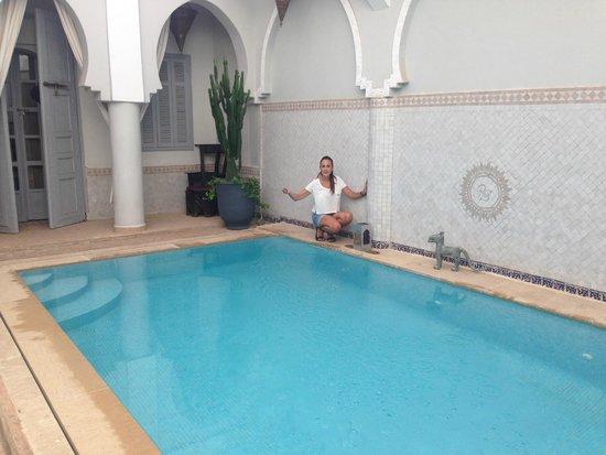 Riad Shemsi: the pool - so nice..