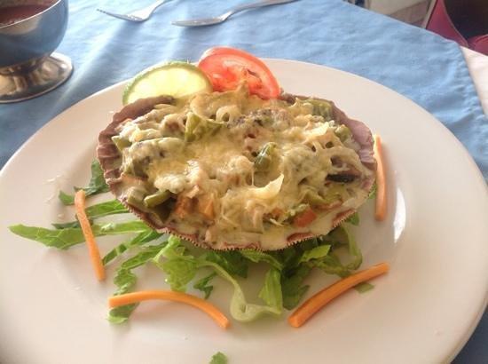 El Mirador Acapulco Hotel: Seafood appetizer--yum!