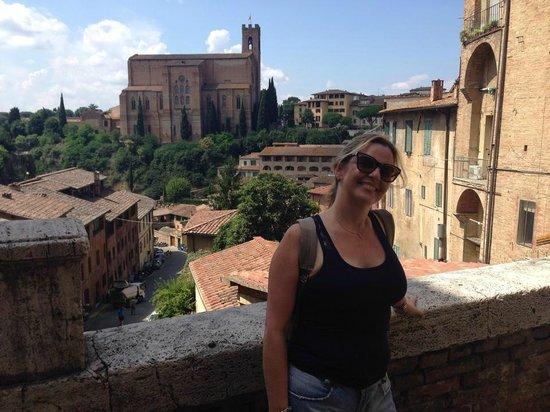 Próximo ao Hotel Il Chiostro del Carmine
