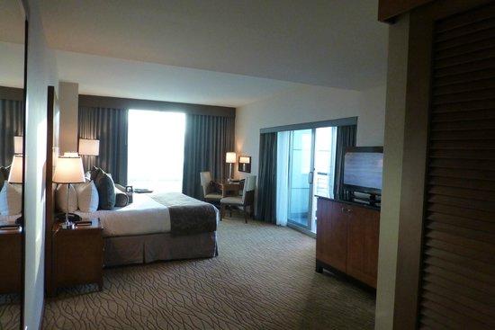 Omni San Diego Hotel : Deluxe King Zimmer