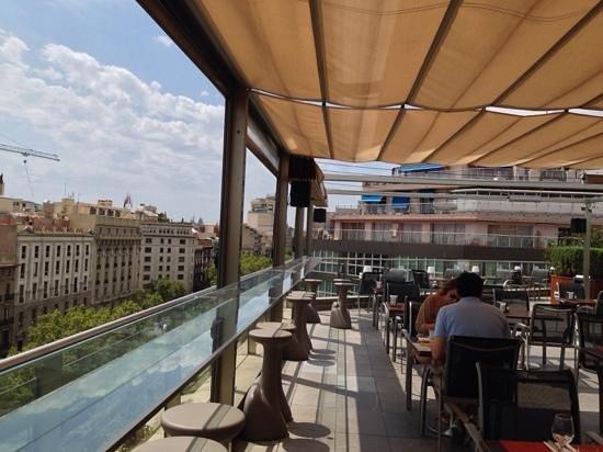 Silken Gran Hotel Havana: roof bar