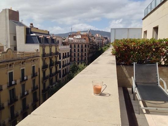 Silken Gran Hotel Havana: view from terrace