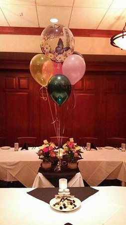 Fleming's Prime Steakhouse & Wine Bar: private party room