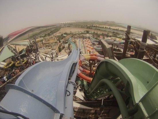 Yas Waterworld Abu Dhabi: Slides