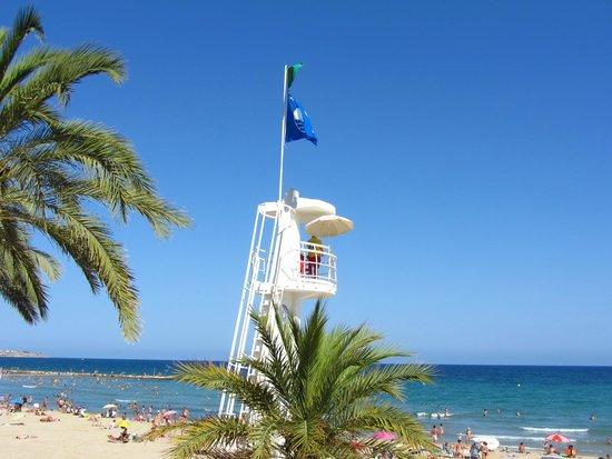 Playa del Postiguet: Пляж Постигет