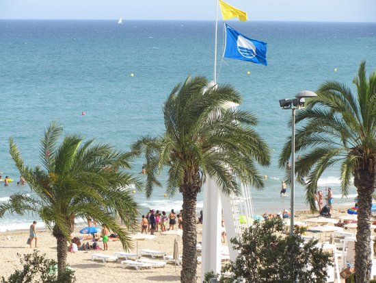 Playa del Postiguet: Голубой флаг Пляжа Постигет