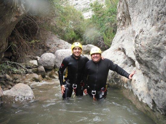 Rafting Sort Rubber River: durante el camino