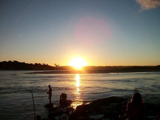 Ecoporan Hotel Charme Spa & Eventos : Pôr-do-sol na Praia da Concha
