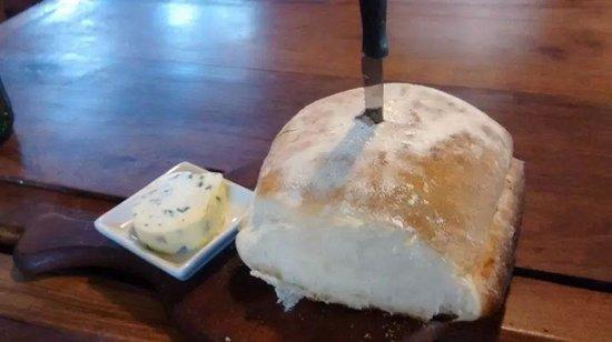 Isabel - Cocina al Disco: excelente pan casero con manteca saborizada