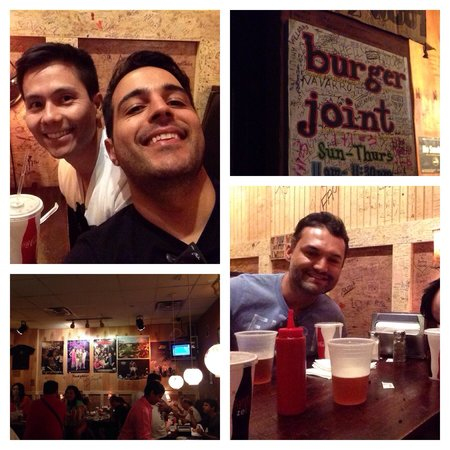 Burger Joint at Le Parker Meridien Hotel : Amigos