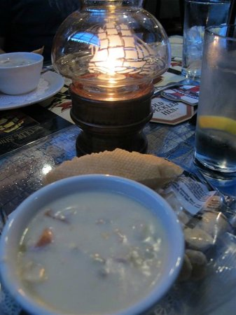 The Olde Ship: Clam chowder