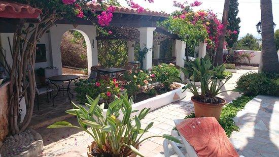 La Finca Ibiza : The sitting area