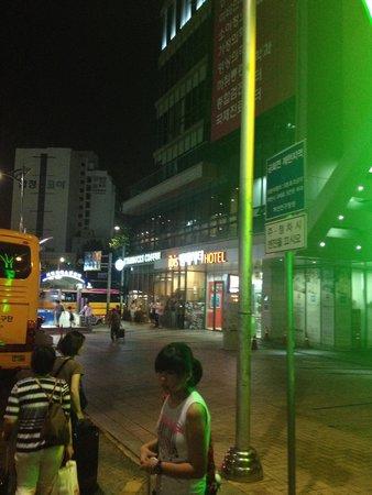 ibis Ambassador Busan City Centre: 正面玄関