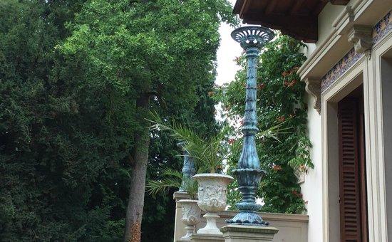 """Roseninsel: Detalle del exterior del """"Casino"""""""