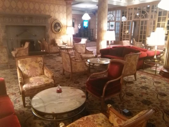 Kulm Hotel St. Moritz : Hall