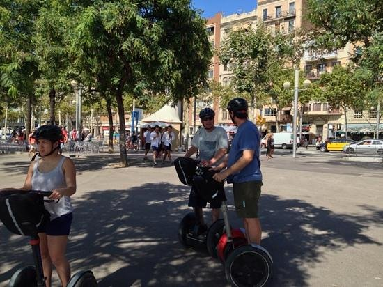 Barcelona Segway Glides : fab