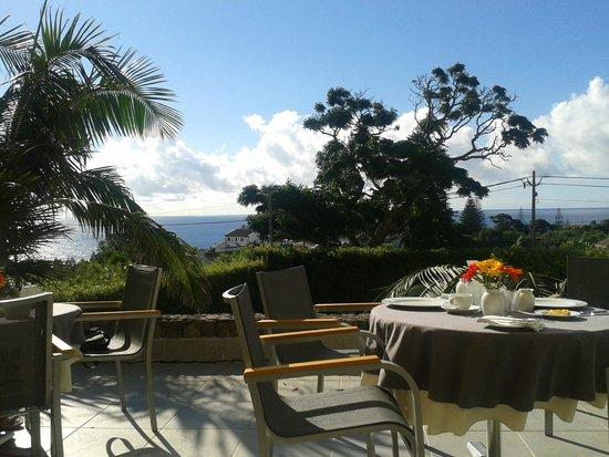 Quinta do Mar : breakfast pavilion