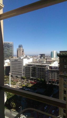 Chancellor Hotel on Union Square: another view from the room