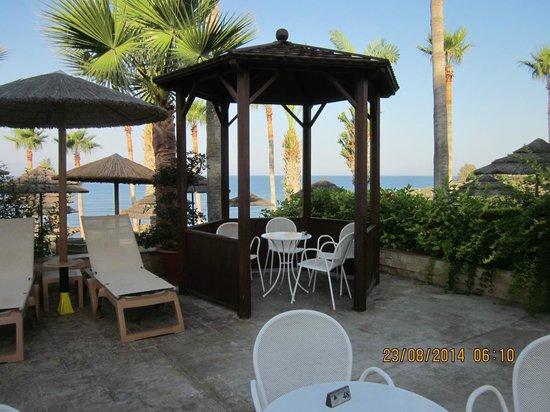 Atlantica Golden Beach Hotel: outdoor area