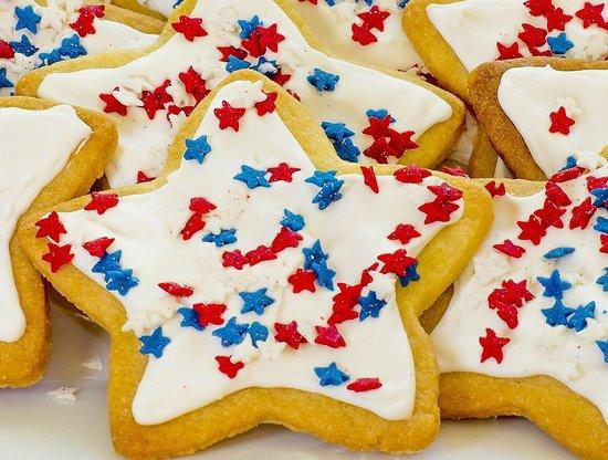 Foxfield Inn: Cookies 4th of July