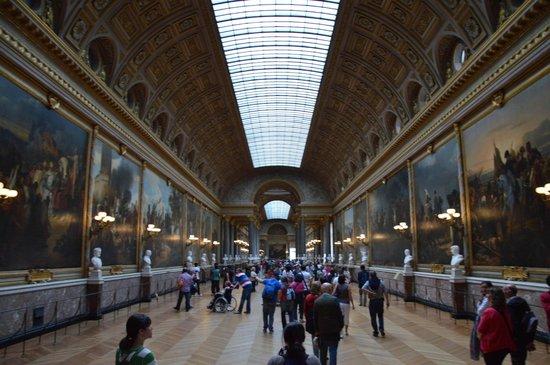 La Galerie des Batailles: The Battles Gallery