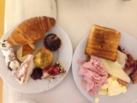 Mercure Palermo Centro : colazione