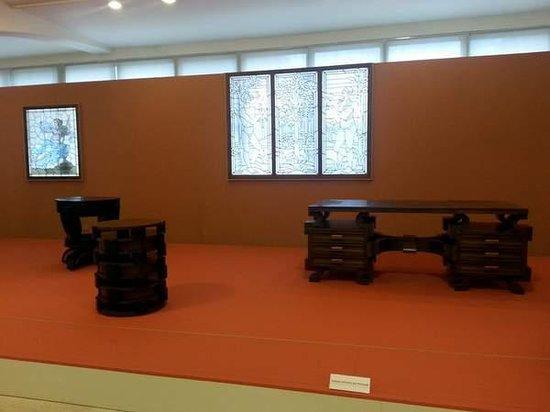 Bureau meuble et vitraux picture of narodni galerie praha prague