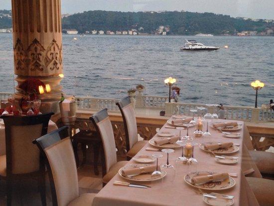 Ciragan Palace Kempinski Istanbul: Balcony view