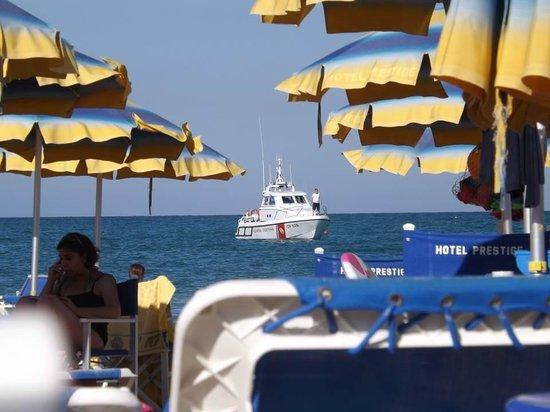 Hotel Prestige: La spiagga privata del Prestige