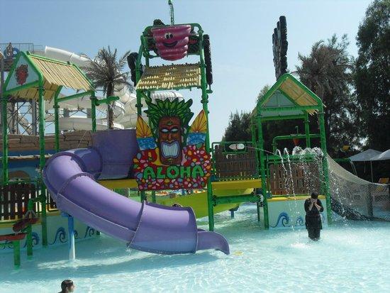 Hotel Riu Kaya Palazzo : Kiddies slides