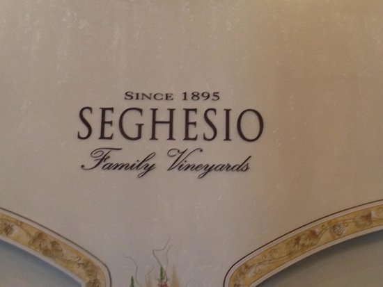 Seghesio Family Vineyards : Entrance