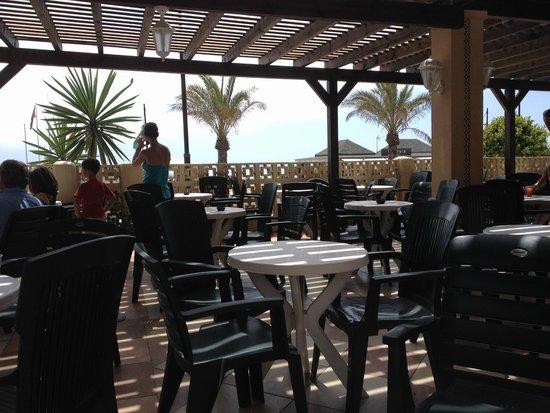 Hotel Pueblo Camino Real: Terrasse bar