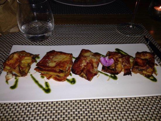 La corte del ceccottino: Eggplant lasagna