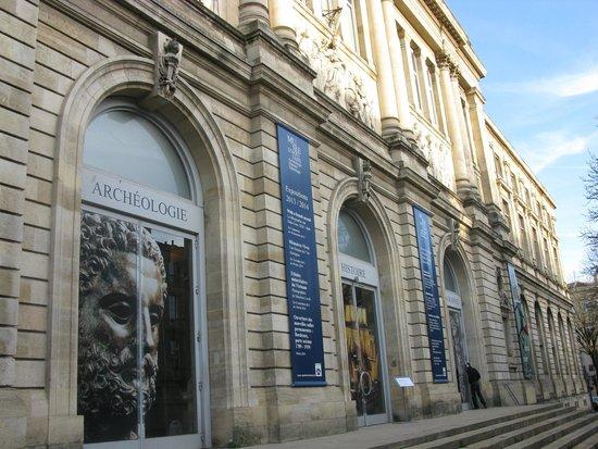 Musée d'Aquitaine : Frente