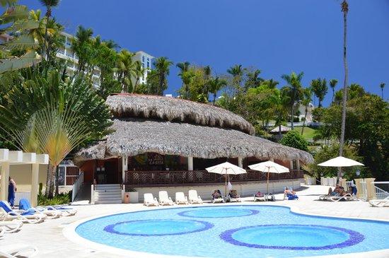 Grand Bahia Principe Cayacoa : Nederste pool (stille)