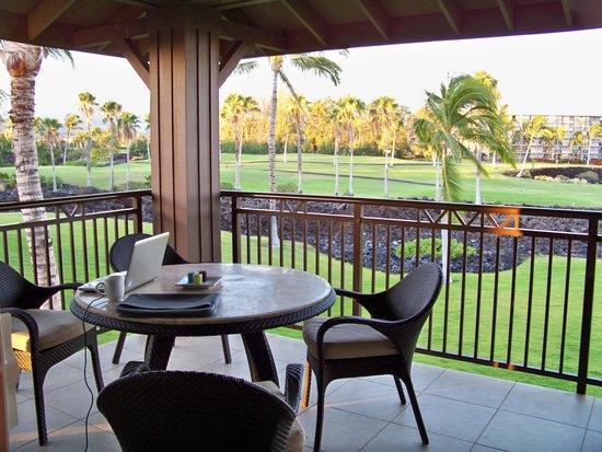 Halii Kai Resort at Waikoloa Beach: balcony
