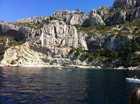 Calanque de Morgiou : Le montagne delle Calanque